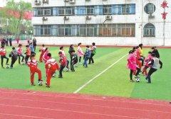 <河南日报>刊文肯定我区校园足球操活动